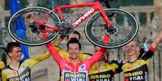 Roglic radelt bei der Vuelta zum Hattrick