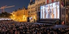 Viertel Million Wiener feierten beim Film Festival