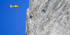 Wiener hängt fünf Stunden in Felswand im Montafon fest
