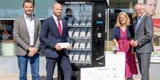 Gurgel-Automaten geplündert und Tests im Netz verkauft