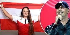 Stärkste Frau Österreichs verewigt Olympia bei RAF