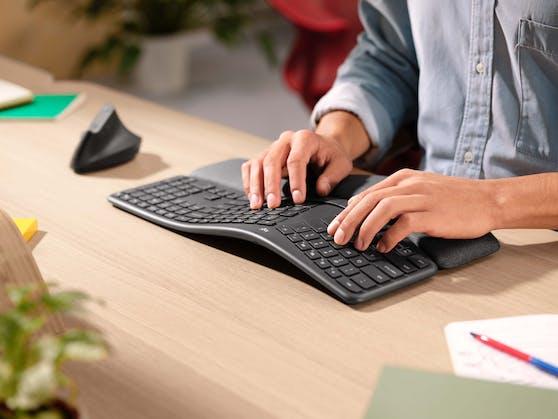 Logi Bolt bietet eine sichere kabellose Verbindung für kabellose Peripheriegeräte wie Logitech-Mäuse und -Tastaturen.