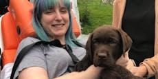 Hohe Kosten: Welpe soll schwerkranker Leni (26) helfen