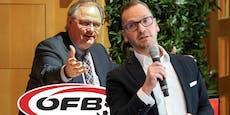 Fix! Schmid oder Milletich werden ÖFB-Präsident