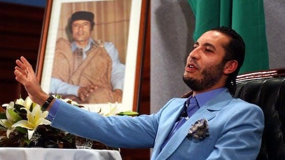 Wieder frei: Al-Saadi Gaddafi. (Archivbild)