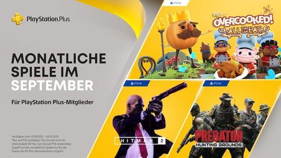 Die PlayStation Plus-Titel im September für PS4 und PS5.