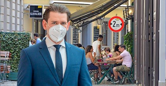 Kanzler Sebastian Kurz plant Einschränkungen und härtere Kontrollen für Ungeimpfte in der Gastronomie