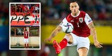 Arnautovic diskutiert nach 0:1-Pleite mit ÖFB-Fans