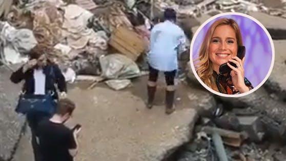 Ein Video von RTL-Reporterin Susanna Ohlen ging im Juli viral.
