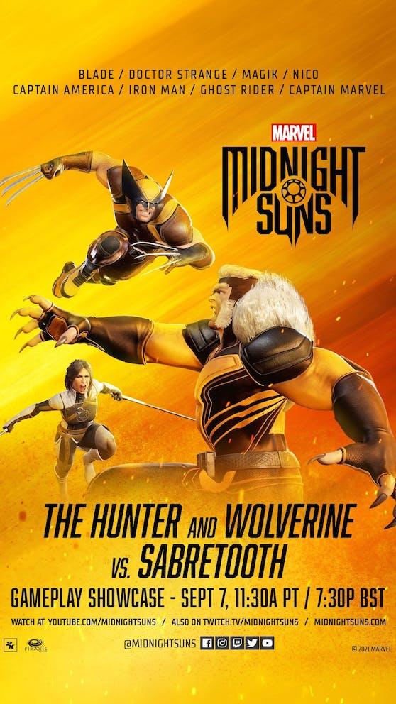 "Firaxis Gameplay Stream: Erster ""Marvel's Midnight Suns"" Gameplay-Stream am 7. September."