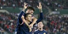 0:1 gegen Schotten! ÖFB-Team verliert nach Video-Elfer