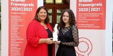 18-Jährige mit dem Wiener Frauenpreis ausgezeichnet
