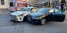 18-Jährige bei Audi-Crash in Wien-Ottakring verletzt
