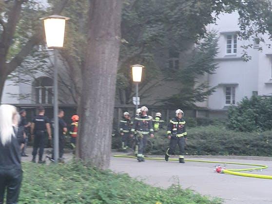 Feuerwehr-Einsatz in Wien-Landstraße
