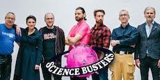 Die Science Busters feiern ihren toten Gründer