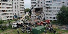 Gasexplosion riss Riesen-Loch in Wohnhaus