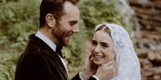 """Emily in Paris""-Star Lily Collins hat geheiratet"