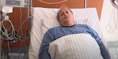 """Demonstrant mit schwerem Corona im Spital: """"Macht weiter"""""""