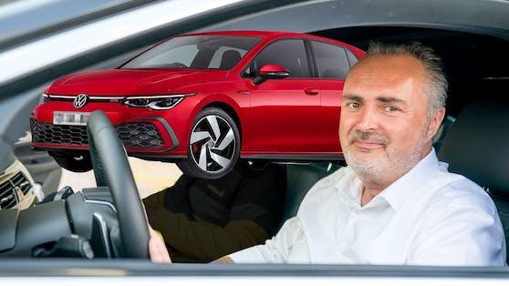Geimpfte können nun einen VW Golf GTI gewinnen.