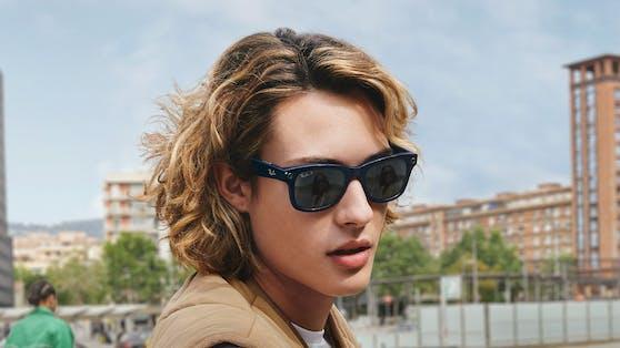 Ray-Ban entwickelte in Kooperation mit Facebook eine knipsende Sonnenbrille. Symbolbild.