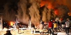 Zehn Tote bei Feuer-Inferno in Corona-Spital