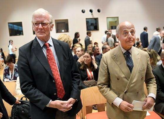Caspar Einem (li.) ist tot. Der frühere Minister wurde 73 Jahre alt.