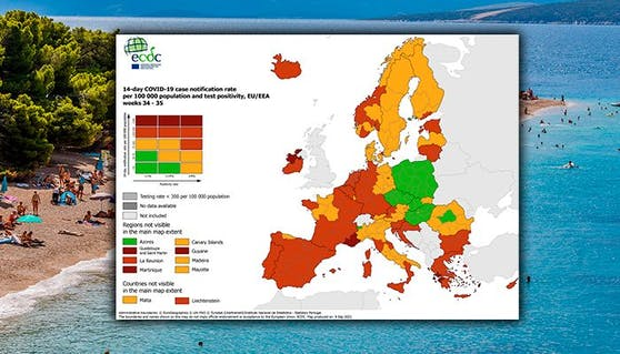 Die Zahl der Infizierten ist in Kroatien um 50 Prozent gestiegen.