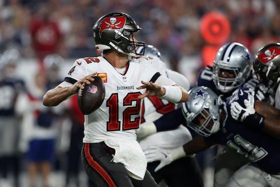 Tom Brady und die Tampa Bay Buccaneers gewinnen den NFL-Auftakt.