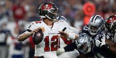 Brady gewinnt NFL-Auftakt zwei Sekunden vor Schluss
