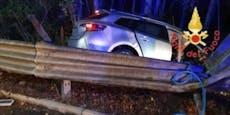Lenker tötete acht Radfahrer und baut erneut Unfall