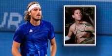 Oben-ohne-Thiem macht sich über Tennis-Star lustig