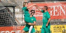 Rapid-Legenden kickten gegen Volksopern-Stars