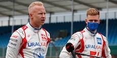 Mazepin stichelt gegen die Schumacher-Familie