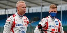 Zukunft der Streithähne Schumacher und Mazepin klar