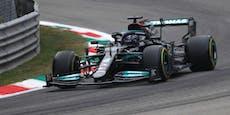 Hamilton schlägt mit Freitags-Bestzeit in Monza zurück