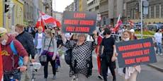 Corona-Demo legt am Samstag Wiener Innenstadt lahm