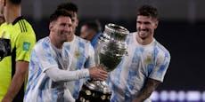 Messi überflügelt bei Argentinien-Gala Ikone Pele