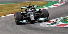 Bottas überrascht mit Bestzeit im Monza-Qualifying