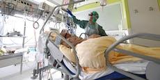 1.900 Fälle, wieder Anstieg auf Intensivstationen