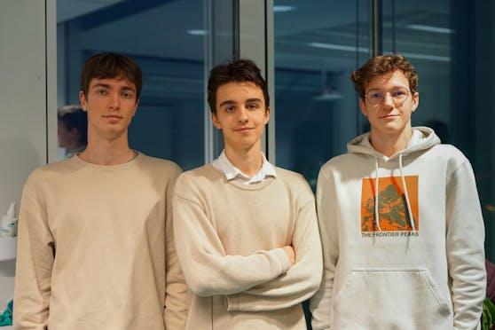 Retten Laptops:Tobias Unger, Bruno Hassa und Philipp Schörkhuber