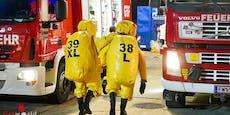 41-Jähriger schwebt nach Chemieunfall in Lebensgefahr