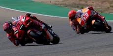 MotoGP-Krimi gegen Marquez: Bagnaia siegt in Aragon
