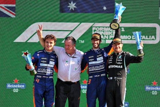 McLaren jubelt über den Monza-Doppelsieg.