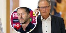 Neuer ÖFB-Boss schaut sich nach Teamchef-Kandidaten um