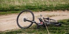 58-Jähriger fällt plötzlich tot vom Fahrrad