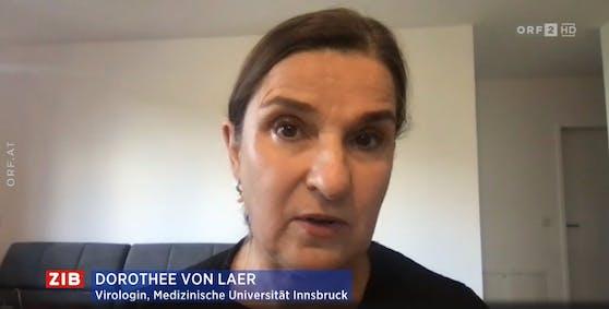 """Virologin Dorothee Von Laer in der """"ZiB 2"""""""