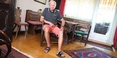 Pensionist (84) wartet wegen Corona 2 Jahre auf Knie-OP