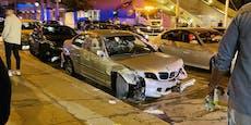 Massen-Crash mit BMW am Gürtel – Junges Paar im Spital