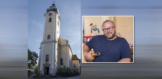 Christian Scharrer vom Theater Stellwerk ist der Regisseur des neuen Werks in der Kapuzinerkirche.