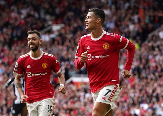 Cristiano Ronaldo schnürt beim Comeback den Doppelpack.